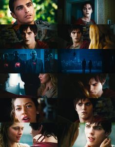 Warm Bodies. Perry, M, R, Julie, and Nora.