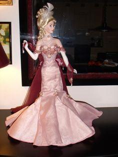 "Franklin Mint Heirloom Porcelain Doll by Dana Gibson ""April in Paris""   eBay"