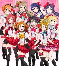 Rin, Kotori, Umi, Nozomi, Maki, Honoka, Nico, Hanayo, and Eli ~Love Live! School Idol Project