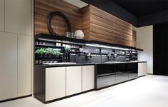 Varenna küchen ~ Cozinha lacada com puxadores my planet by varenna by poliform