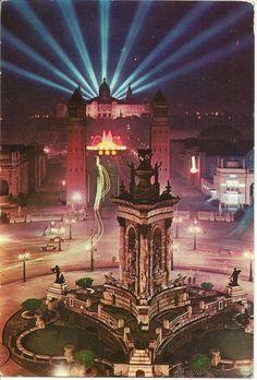 Barcelona ♥ Plaça de Espanya, 1963