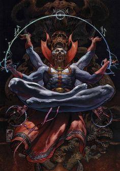 """""""Whatever befall, the world must never know the full mystic power of Dr. Strange"""" --Stephen Strange"""