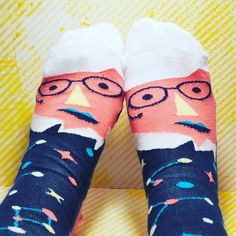 On the blog today: @chattyfeet socks! Meet Stephen Toeking.