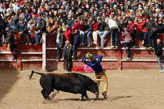 Week of Mar 1-7, 2014 A man took part in the Carnaval del Toro (Carnival of the Bull) on Monday in Ciudad Rodrigo, near Salamanca, in northwestern Spain. (Cesar Manso/Agence France-Presse/Getty Images)