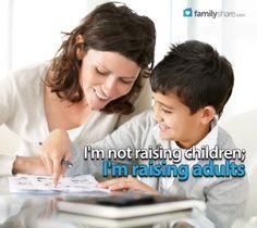 FamilyShare.com l Teaching children good work ethic and self - reliance