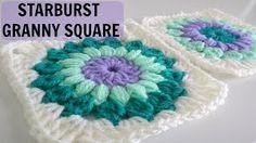 granny square crochet for beginners - YouTube
