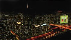 김세한 KIM, Se-Han / Dot city lights / 120 x 70cm / Acrylic on canvas / 2011