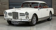 1960 Facel Vega HK 500  Maintenance/restoration of old/vintage vehicles: the material for new cogs/casters/gears/pads could be cast polyamide which I (Cast polyamide) can produce. My contact: tatjana.alic@windowslive.com