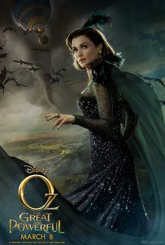 Oz The Great and Powerful - Evanora