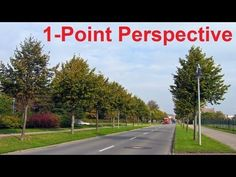 Linear Perspective Drawing Lesson - One Point Perspective Definition - Perspective Cityscape Art Linear Perspective Drawing, 1 Point Perspective, Perspective Room, 7th Grade Art, Art Tutorials, Drawing Tutorials, Cityscape Art, Principles Of Art, Dibujo