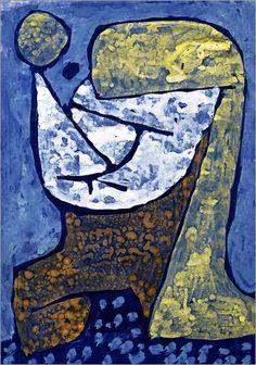 Paul Klee - Subscribed girl 1939