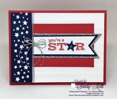 Creative Inking May Blog Hop - Saying Goodbye - Stampin' Up! Pictogram Punches - created by Sandy Mott
