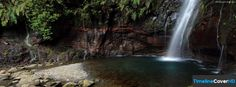 Natural Pool And Waterfall Timeline Cover 850x315 Facebook Covers - Timeline Cover HD