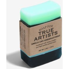 Whiskey River Soap Co. True Artists Soap ($6.93) ❤ liked on Polyvore featuring beauty products, bath & body products and body cleansers