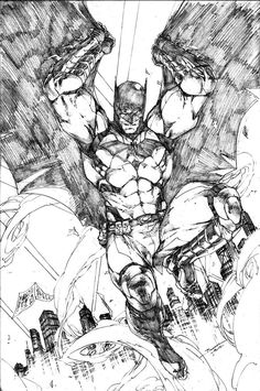 Batman by Brett Booth