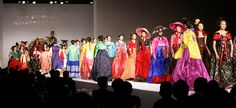 Jan. 11, SEOUL, South Korea -- Stars & models hit the catwalk dressed in colorful hanbok (traditional Korean dresses) during a fashion show at the Grand Hyatt in Seoul on Jan. 10. (Yonhap) Korean Drama - Page 156 - PurseForum