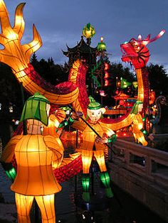 Mid-Autumn Festival: Celebrated in Vietnam and China. We attended a local festival with @Jessica English last weekend!