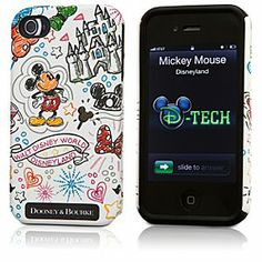 Again - why must cute things be so expensive ??   Disney Mickey Mouse iPhone 4/4S Case by Dooney & Bourke - White | Disney StoreMickey Mouse iPhone 4/4S Case by Dooney & Bourke - White - The reception will always be bright using Mickey's fashionable iPhone case by Dooney & Bourke, direct from the Disney Parks. You'll adore how it decorates and protects your precious electronic equipment.
