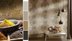 Company which specializes its production in wallpapers, wallcoverings and tissues. The CRISTIANA MASI brand is a mark of the designand the quality of our products. Modern Wallpaper, Modern Design, Curtains, Shower, Wallpapers, Christians, Rain Shower Heads, Blinds, Contemporary Design
