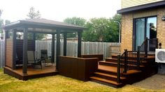 Ideas for front patio seating verandas Pergola Diy, Pergola Plans, Pergola Ideas, Cedar Pergola, Decking Ideas, Small Backyard Patio, Diy Patio, Patio Plus, Rustic Patio
