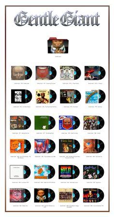 Album Art Icons: Gentle Giant