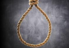 HAMAS SENTENCES ISRAELI COLLABORATOR TO DEATH BY HANGING - Old rope with hangman's noose (illustrative). Photo By: INGIMAGE