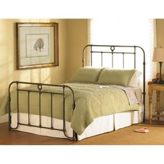 Wesley Allen   Wellington Iron Bed available at Hickory Park Furniture Galleries
