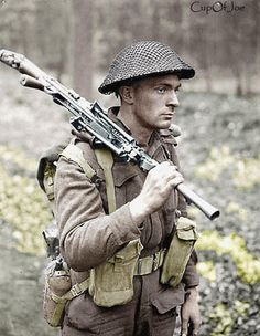 Canadian Soldier Near Arnhem. This is a nice reproduction of an original World War Two photo showing H. Goddard of the Canadian Armored Division near Arnhem on 5 April Great photo! Size of photo is about x Canadian Soldiers, Canadian Army, Canadian History, British Soldier, British Army, Military Photos, Military History, Vietnam War, Dieselpunk