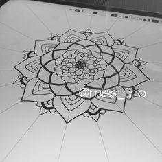 Drawing Miss Fino Ipadpro Applepencil Amaziograph Fun Mandala