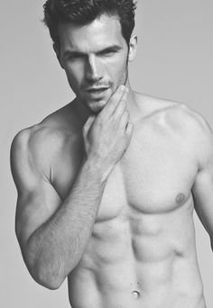 Adam Cowie, handsome man, muscular body, sexy guy