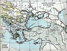 Southeastern Europe, 1727.