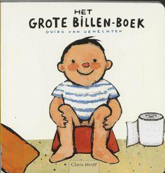 HET GROTE BILLEN-BOEK bevat een schat aan billen: dikke, dunne, zachte, gestreepte... en nog heel wat andere. Een grappig potjesboek voor peuters vanaf 24 maanden met de vaardigheden van het kind als thema.