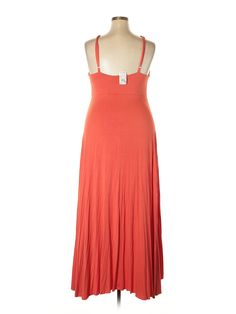 Ashley Stewart Casual Dress: Size 20.00 Orange Women's Dresses - New With Tags - $9.99
