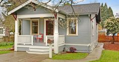 This cute 1925 Craftsman looks like it's ages away from a major metropolitan area, but it could ...