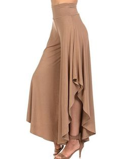 Cheap high waisted pleated pants, Buy Quality wide leg pants directly from China pants femme Suppliers: LASPERAL 2018 Elegant Irregular Ruffles Wide Leg Pants Women High Waist Pleated Pants Femme Casual Loose Streetwear Trousers Loose Pants, Wide Leg Pants, Wide Legs, Women's Pants, Baggy Trousers, Yoga Pants, Harem Pants, Fashion Pants, Fashion Dresses