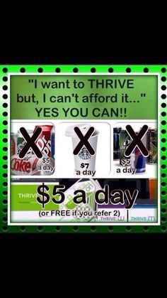 It's FREE when you sign up just 2 people! It's that easy!!!!! Sign up and PROMOTE with me today! JocelynEure.le-vel.com