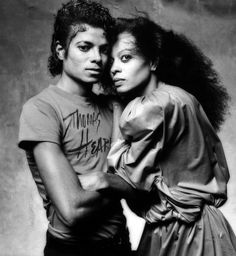 misterand:  Michael Jackson and Diana Ross