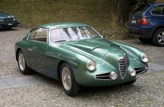Zagato Alfa Romeo 1900 SSZ Coupe...another ingenius yet downright ugly design from Zagato