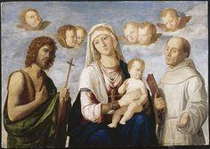 Cima da Madonna and Child❤️ John the Baptist and A4 Poster, Poster Prints, Saint Jean Baptiste, Madonna And Child, John The Baptist, Italian Renaissance, Reproduction, Vintage Artwork, Virgin Mary