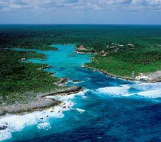 Xel-Ha, Mexico...a fresh water inlet that meets the ocean...natures aquarium!