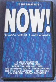 NOW That's What i Call Music 18 - VHS