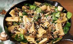 Wat Eten We Vandaag?? Romige Pasta Met Knoflook Champignons!