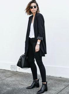 Le parfait look noir et blanc #65 (photo Modern Legacy)