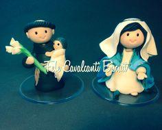 Santo Antônio e Nossa Senhora das Graças em Buscuit