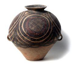 Vasija. Cerámica Cultura Majiayao, fase Banshan (2600-2300 a.C.), China A: 37 cm. Test T.L. Ref: Cer 4-2-04 Galería Meiping 1800 €