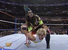 Bull Nakano And Alundra Blayze #wrestling