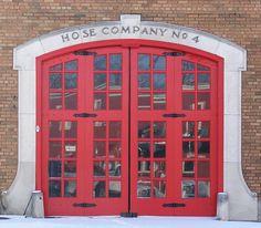 Hose Company No. 4 Fire Museum, E. Davenport, Iowa by David Stebben