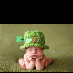 St Patrick's day baby