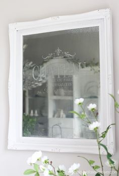 aux Etched Mirror from confessionsofaserialdiyer.com