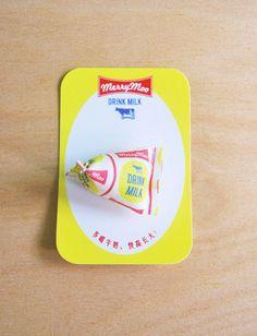 Milk Pack Pin
